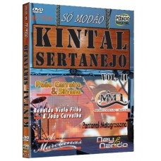 KINTAL SERTANEJO vol.2 - DVD